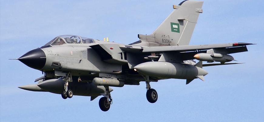 Suudi Arabistan savaş uçağı Yemen'de füze saldırısına uğradı