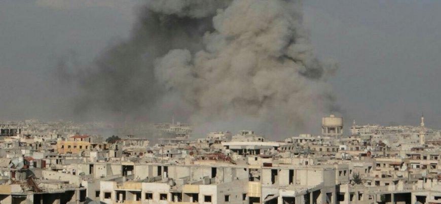 'Garantör' Rusya'dan Doğu Guta'ya bir günde 50 hava saldırısı