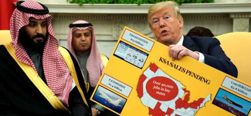 ABD Suudi Arabistan'a bir milyar dolarlık silah satacak