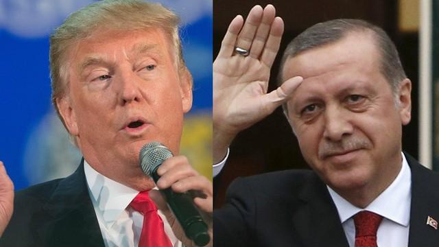 Trump'tan Erdoğan'a: Kızım size hayran