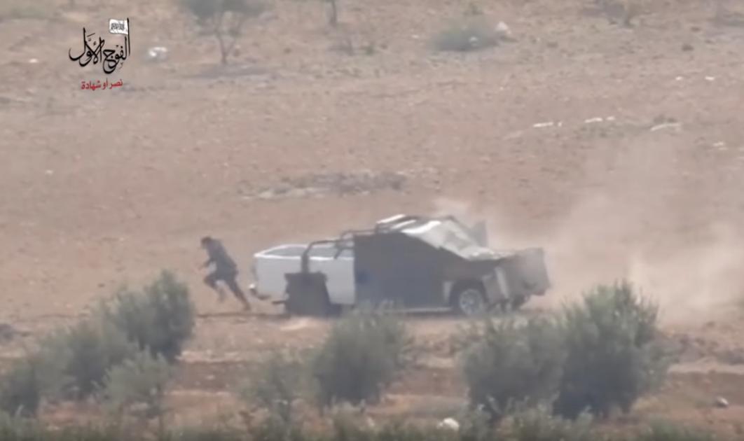 IŞİD eylemcisinin dramatik kaçışı