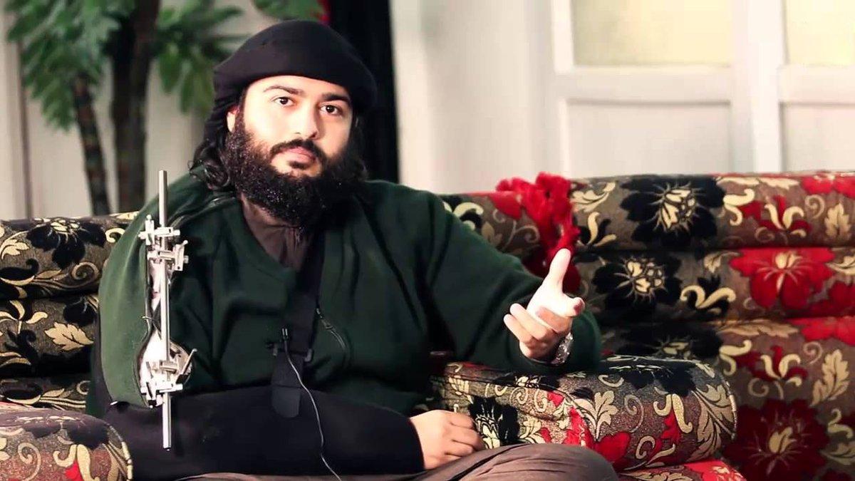 Muhaysini 'küresel teröristler' listesine eklendi