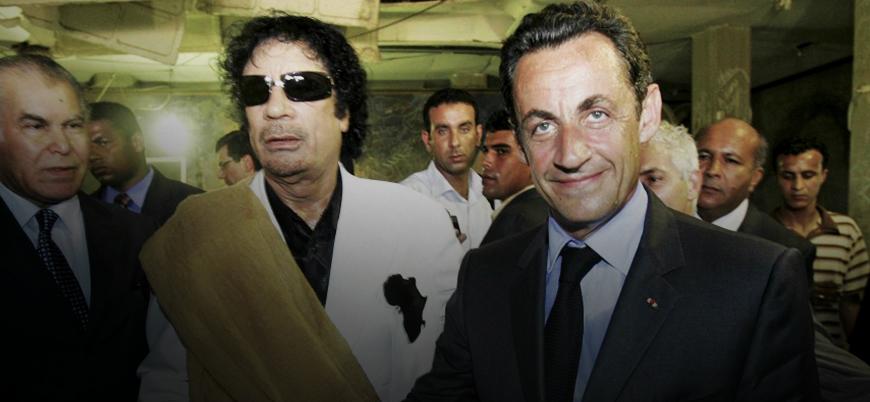 'Kaddafi rüşveti' Fransız siyasetini sarsıyor