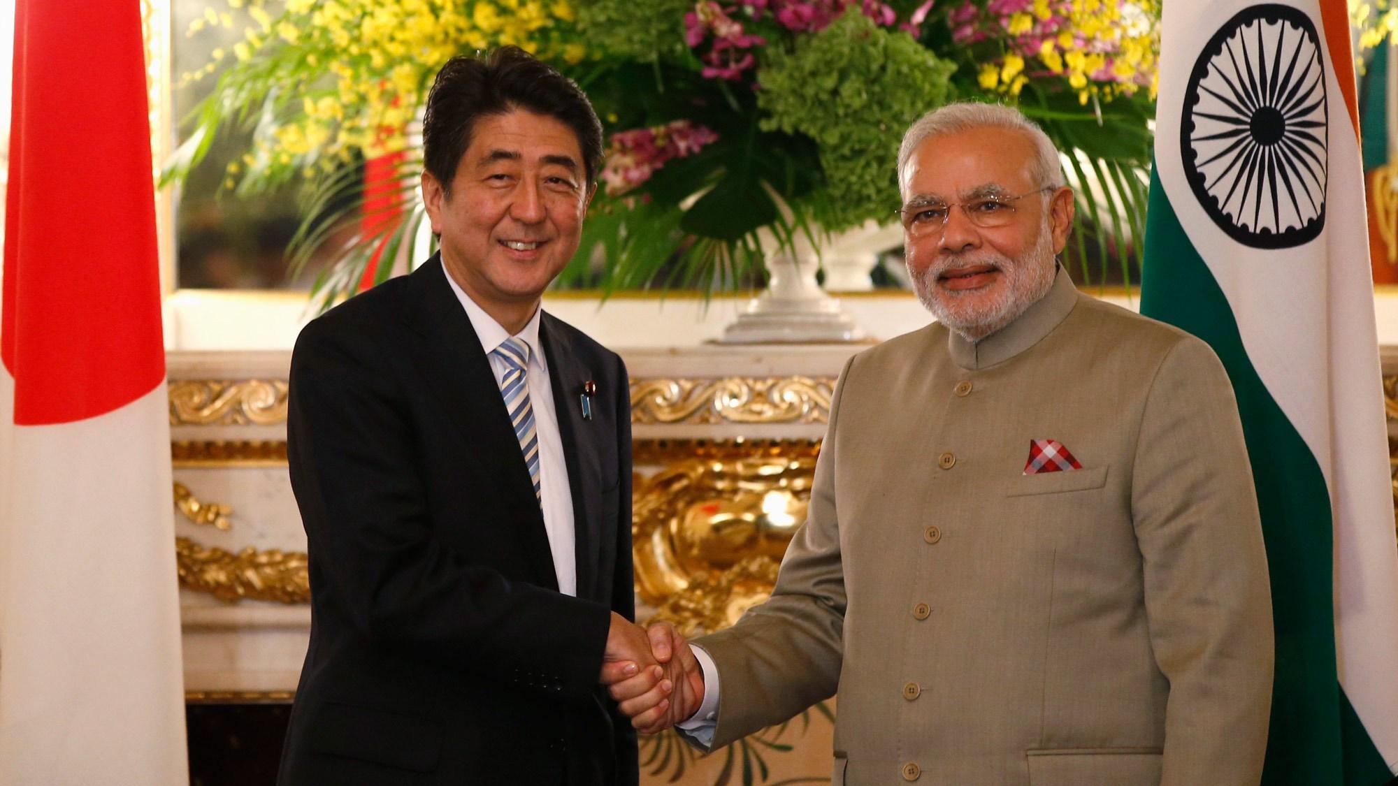 Hindistan ve Japonya, Çin'e karşı ittifak yaptı