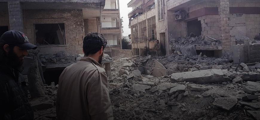 İdlib'de bombalı araç patladı: En az 10 ölü