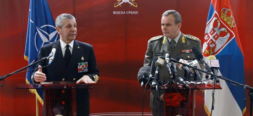 Sırbistan'ın yüzde 84'ü NATO üyeliğine karşı