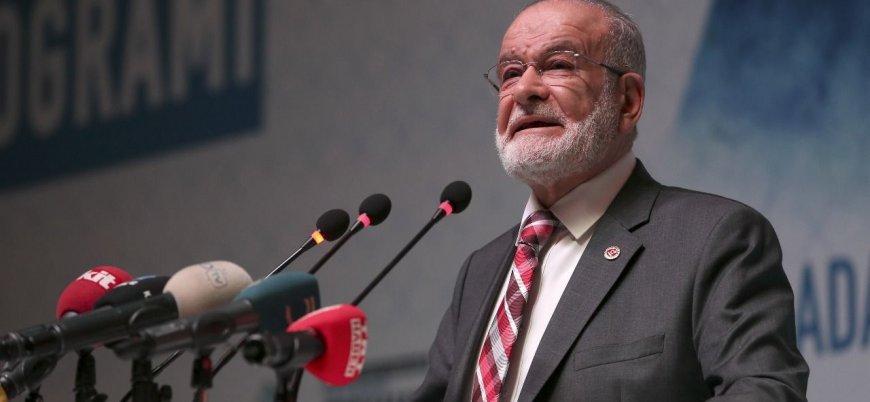 Karamollaoğlu: Ak Parti açık açık korkmaya başladı