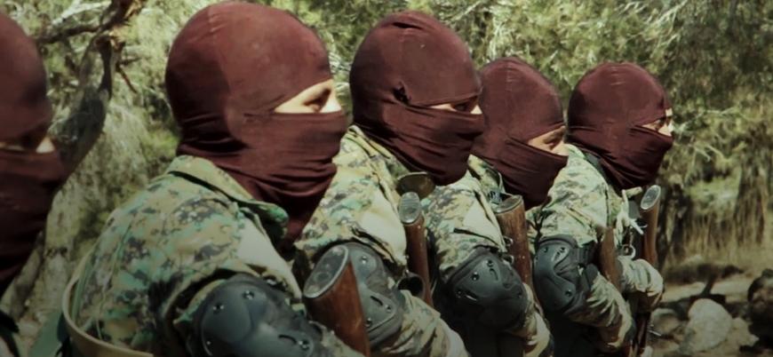 HTŞ, Suriye'nin güneyindeki 'Özel Kuvvetler'in görüntülerini yayınladı