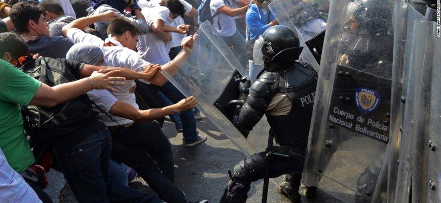 Venezuela'da polis merkezinde isyan: 68 kişi öldü