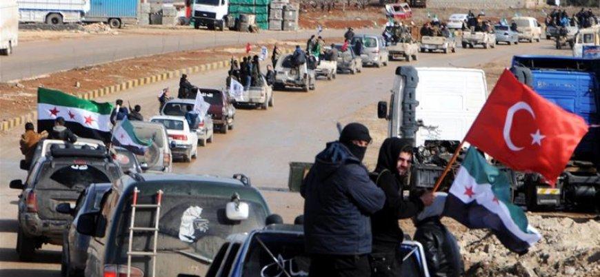Halep-Menbiç yolu trafiğe kapatıldı: Zeytin Dalı Menbiç'e mi uzanıyor?