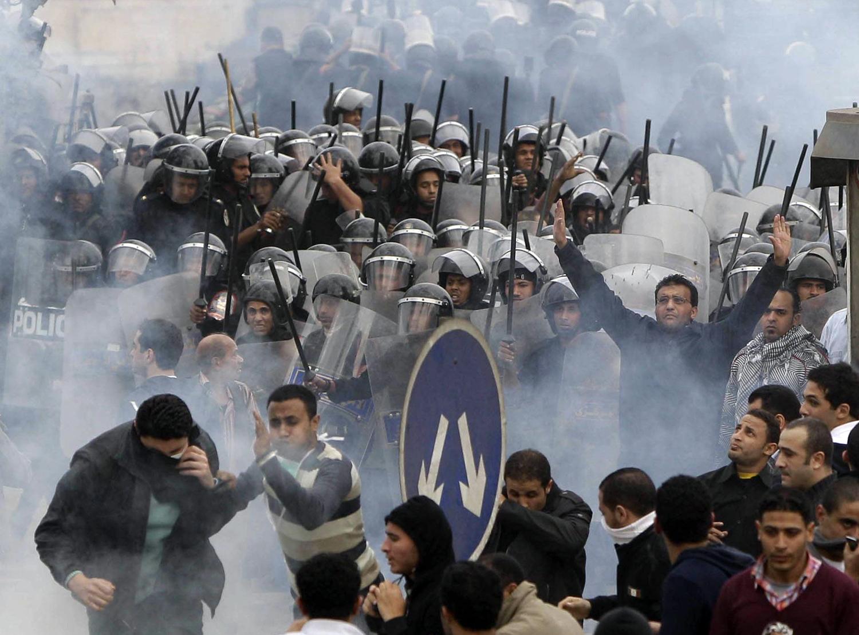 Garibanlar Hareketi, Mısır'da 'devrim ateşini' yakamadı