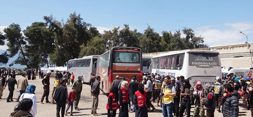 Doğu Guta'dan tehcir edilenlerin sayısı 43 bini aştı