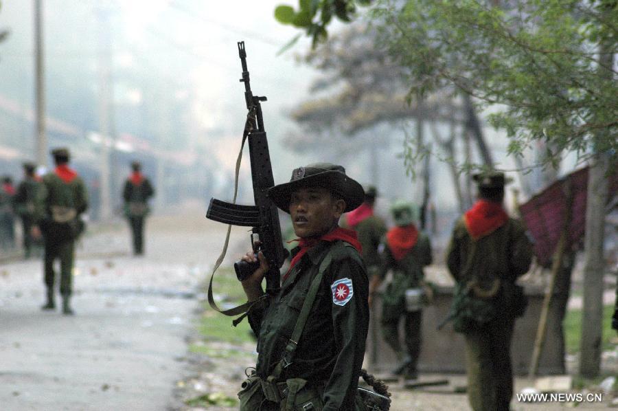 31 Arakanlı 'terör' suçlaması ile gözaltına