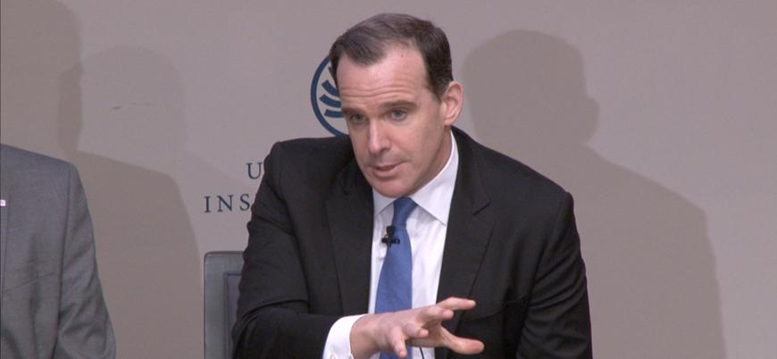 Brett McGurk: Menbiç sorununu Türkiye ile diplomatik yoldan çözmeliyiz