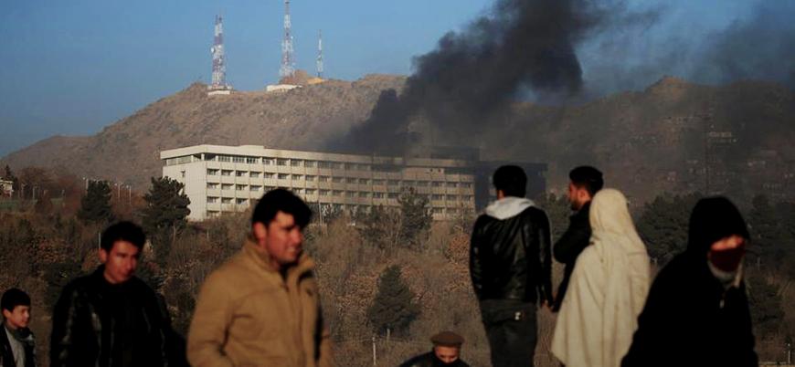 Taliban, Kabil'deki otel saldırısının görüntülerini yayınladı