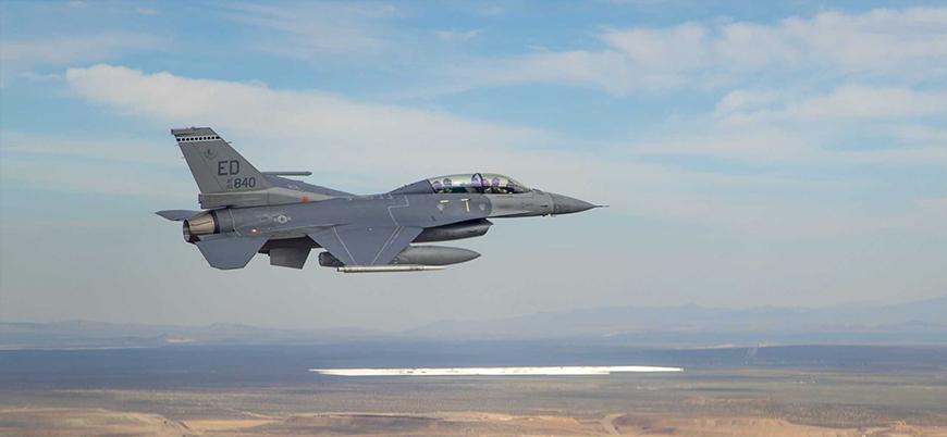 ABD'de bir F-16 savaş uçağı düştü