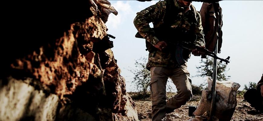Afrin'de PKK'nın hücre evine baskın