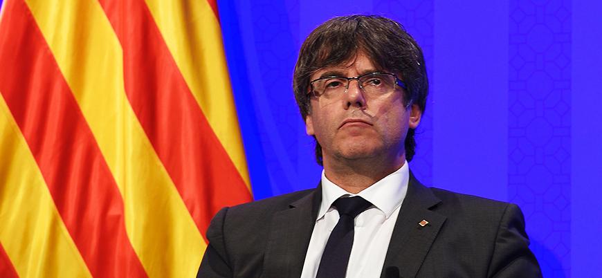 Katalan lider Puigdemont'a Almanya'da şartlı tahliye