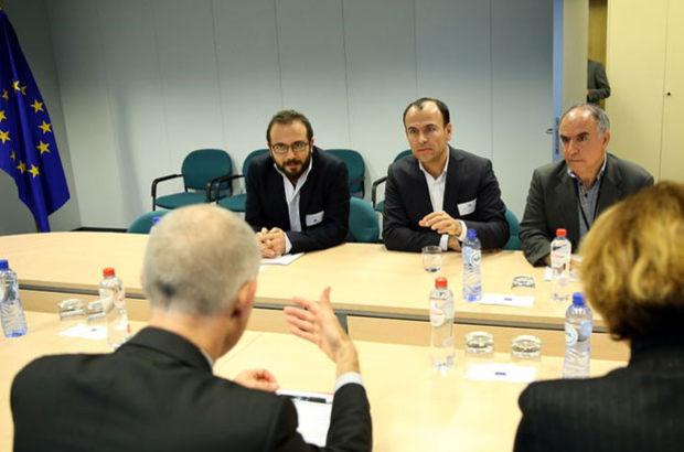 Firari HDP vekili ve PKK yöneticisi, AB komisyonunda ağırlandı