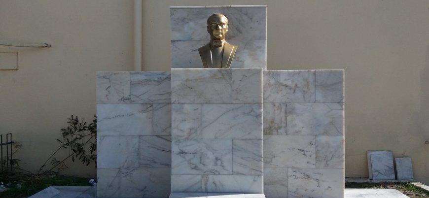 Atatürk büstüne saldırıya 79 yıl hapis istemi
