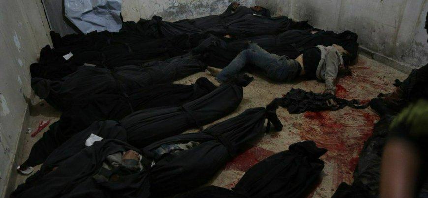 Tahliyeler durdu bombardıman başladı: Doğu Guta'da 35 sivil öldü