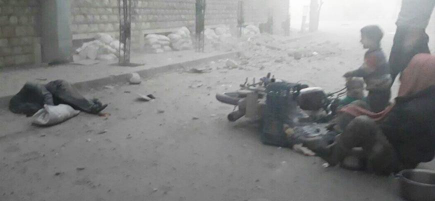 HTŞ: Doğu Guta'da 6 saatte en az 40 sivil öldürüldü