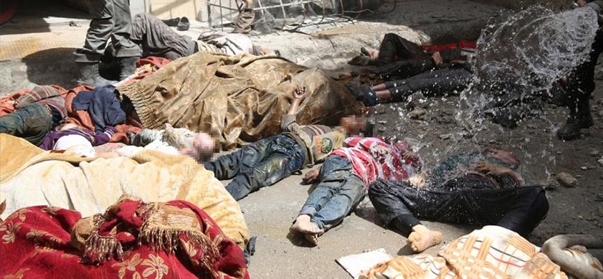 Muhalifler: Kimyasal katliamın asıl sorumlusu uluslararası toplum