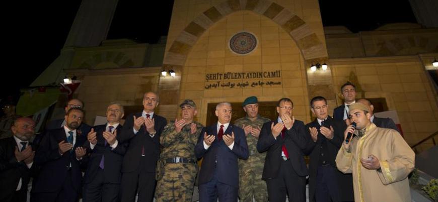 Binali Yıldırım Afganistan'daki NATO üssünde cami açılışı yaptı