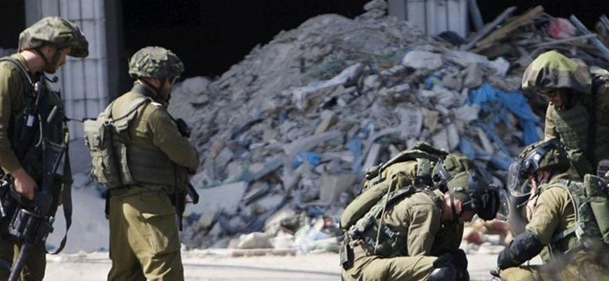 İsrail askerleri Filistinli genci araçla ezdi