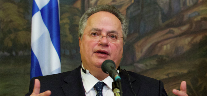 Yunanistan Dışişleri Bakanı Kocias'tan Türkiye'yle savaş  açıklaması