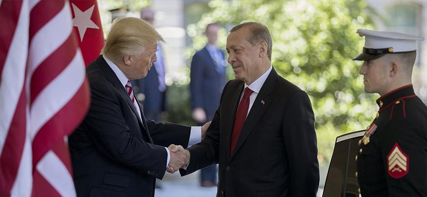 Erdoğan ve Trump Suriye'yi görüştü