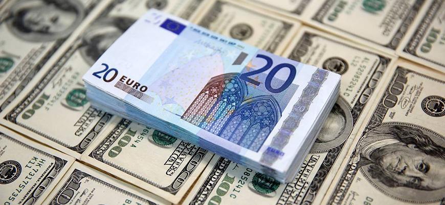 Dolar 7 euro 8 lira üzerini gördü