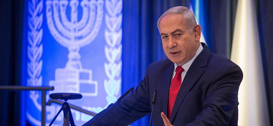 Netanyahu Suriye ve İran'ı tehdit etti: Vururuz