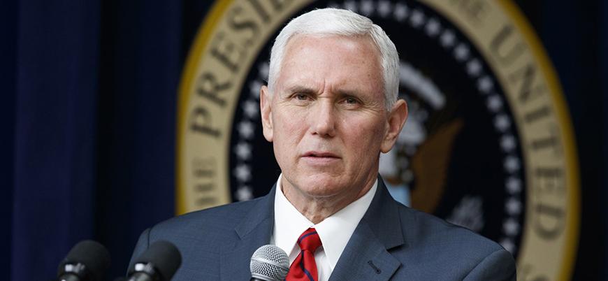 ABD Başkan Yardımcısı Mike Pence: Kimyasal saldırılar tolere edilmeyecek