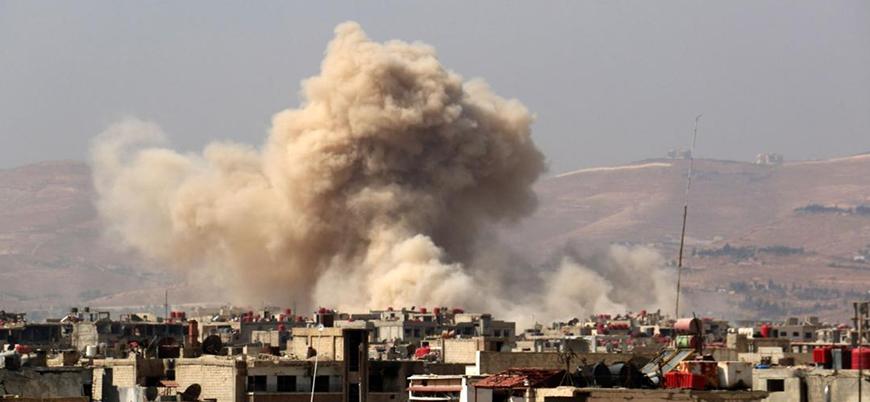 Halep'te İran askeri üssünde patlama iddiası