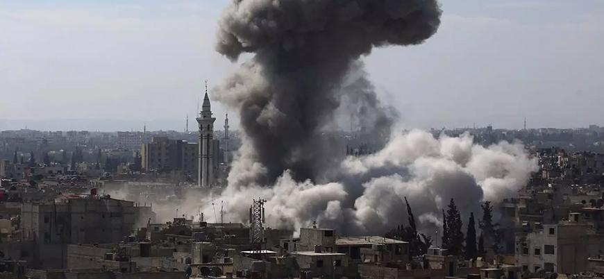 Ağır hava ve kara bombardımanı: Rejimin yeni hedefi Humus kuzeyi mi?