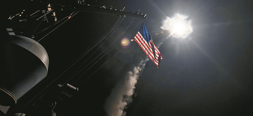 ABD koalisyonunun Suriye'de vurduğu bölgelerin uydu görüntüleri ortaya çıktı