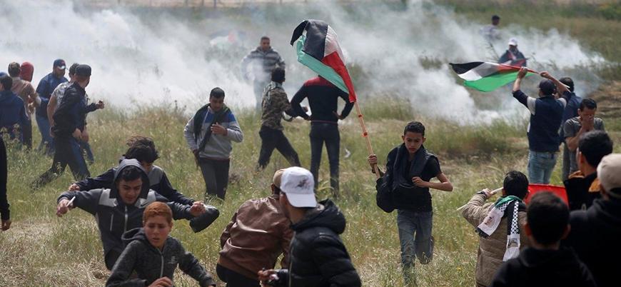 'Büyük Dönüş Yürüyüşleri' sürüyor: 3 Filistinli daha yaralandı
