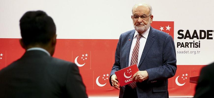 Saadet Partisi lideri Karamollaoğlu: Seçim kararımızı geniş bir istişareden sonra açıklayacağız
