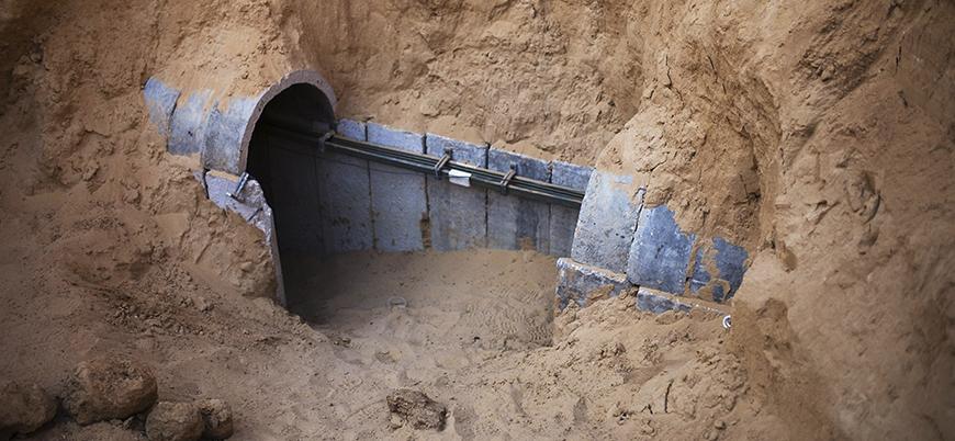 İsrail: Gazze'deki en derin ve uzun tüneli imha ettik