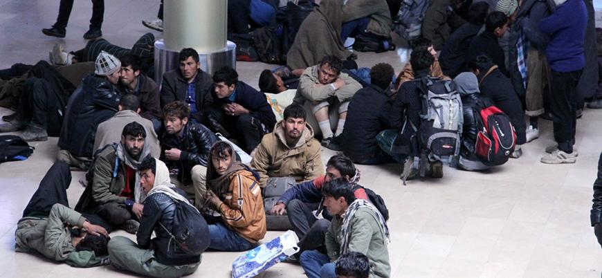 İzmir'de Afgan göçmen operasyonu