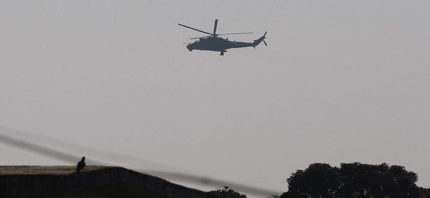 İran'da helikopter düştü: 2 kişi öldü, 2 kişi kayıp