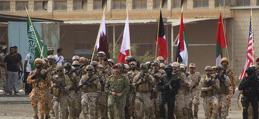 Krizden sonra bir ilk: Katar Suudi Arabistan'da askeri tatbikata katıldı