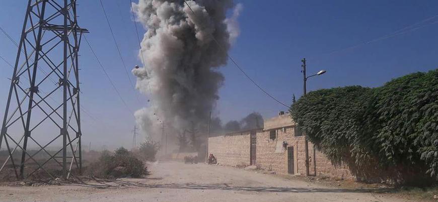 Ebu Amara Tugayı Hama'da rejim cephaneliğini havaya uçurdu