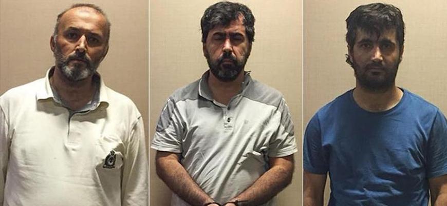 MİT operasyonuyla Gabon'dan getirilen 3 FETÖ mensubu tutuklandı