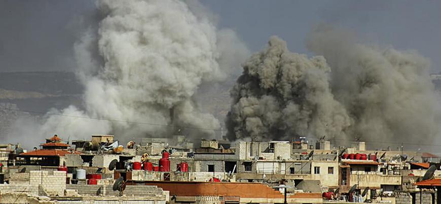 Hedef IŞİD ve Muhalifler: Rejim koalisyonu Şam'da saldırı başlattı