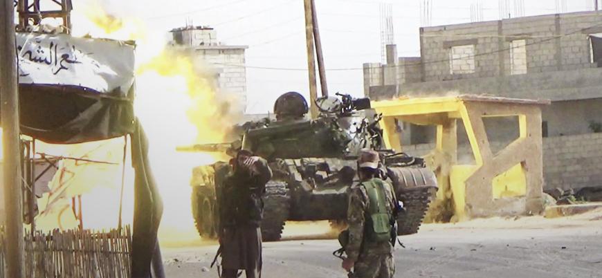 IŞİD'ten Suriye'de muhaliflere ani saldırı