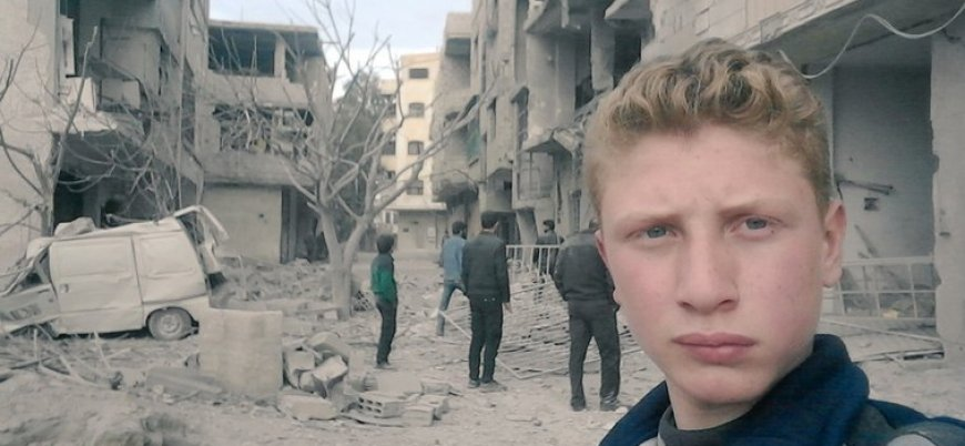 Röportaj: Doğu Guta'nın 15 yaşındaki 'savaş muhabiri'