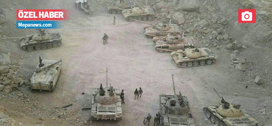 Ceyşu'l İslam, silah depoları ve tankları rejime teslim etti