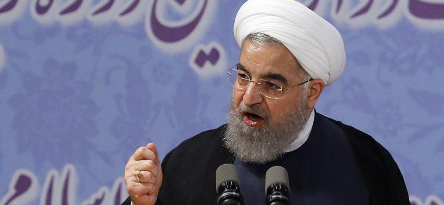 Ruhani: İran'daki döviz krizinin arkasında ABD var